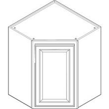 """24W X 42H X 12""""D Corner Wall Cabinet"""