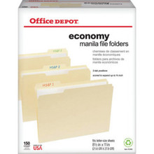 Office Depot Economy File Fldrs 150/Cs