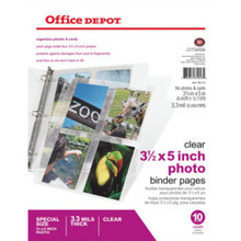 Photo Pages,Od,3X5,10Pk