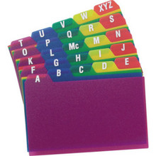 Oxford Poly Card Guides