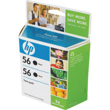 "Hp 56 Blk Inkjet Crtdge ""Pkg Of 2"""