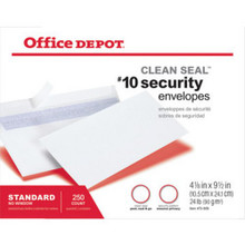 Offce Dept Clean-Seal Scurty Envl 250/Bx