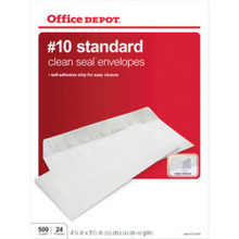 Office Depot Clean-Seal Envel