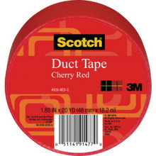 1-7/8 X 720 Scotch Color Duct Tape Red