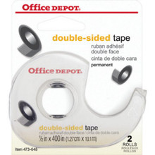 "Perm Double-Sided Tape W/Disp ""Pkg Of 2"""