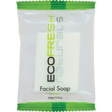 Park Inn Eco Pure Naturals Facial Soap 16 g Flow Wrapped Case of 400