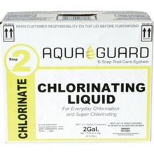 """Aqua Guard 1 Gal Liquid Chlorine """"Pkg/4"""""""