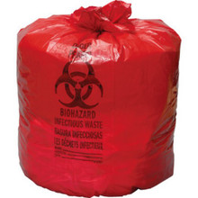 "7-10 Gal Red Isolation Bag ""Pkg Of 500"""