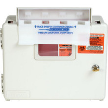 5 Quart Wall-Mount Sharps Container