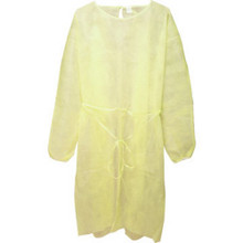 "Latex-Free Isolation Gown ""Case Of 10"""