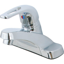 Aspen Euroloop Lavatory Faucet Chrome Single Handle With Pop-Up