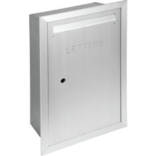 Auth Florence Recessed Mount Collection Box Aluminum