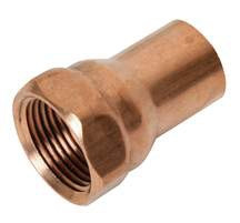 """Copper Female Adapter - 1"""" x 1"""""""