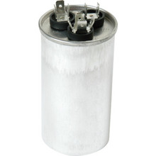 370 Volt 25/5 MFD Round Run Capacitor