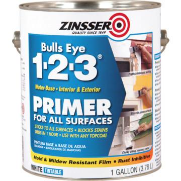 1 Gallon Zinsser Bulls Eye 123 Primer Sealer - Water-Based