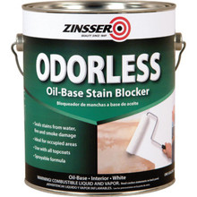 1 Gallon Zinsser Bulls Eye Odorless Primer Sealer - Solvent-Based
