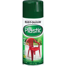 12 Ounce Rust-Oleum Plastic Spray Paint - Hunter Green
