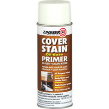 13 Ounce Zinsser Cover Stain Primer Sealer - White