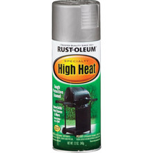 12 Ounce Rust-Oleum High Heat Spray Paint - Aluminum