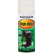 12 Ounce Rust-Oleum High Heat Spray Paint - White