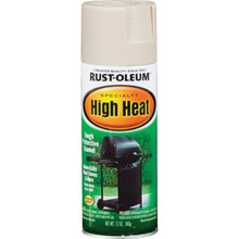 12 Ounce Rust-Oleum High Heat Spray Paint - Almond