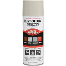 12 Ounce Rust-Oleum Industrial Choice Enamel Gloss Spray Paint - Almond