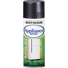 12 Ounce Rust-Oleum Appliance Epoxy Spray Paint - Black