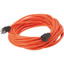 50' Orange Extension Cord - 16/3 SJTW
