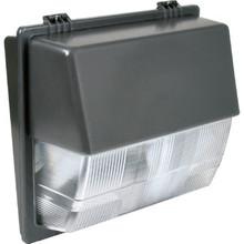 150 Watt High Pressure Sodium Bronze Wall Pack Clear Prismatic Lens