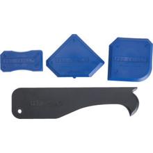 4-Piece DAP Pro Caulk Tool Set