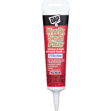 5.5 Ounce DAP Kwik Seal Plus Kitchen And Bath Caulk - Biscuit 12 Per Case