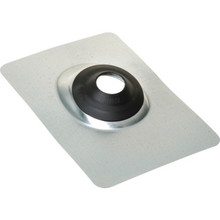 "Roof Flashing 1-1/4""-1-1/2"" Aluminum With EPDM Rubber Collar"