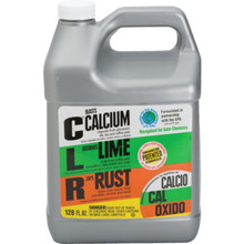 Rust, Calcium And Lime Remover, 1 Gallon CLR