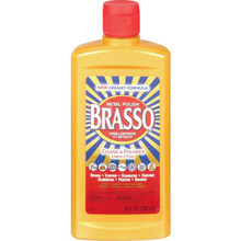 Metal Polish, 8 Ounce Brasso