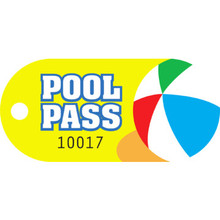 Recreational Pool Pass, Have A Ball Package Of 100