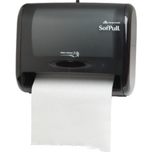 Georgia-Pacific SofPull Black Automatic Touchless Towel Dispenser