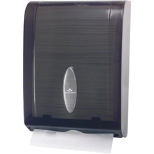 Georgia-Pacific Smoke Combination C-Fold or Multifold Paper Towel Dispenser