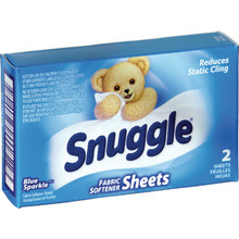 Dryer Sheets, Snuggle Package Of 100