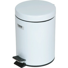 1.5 Gallon Rubbermaid Medi-Can White Step Can