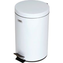 3.5 Gallon Rubbermaid Medi-Can White Step Can