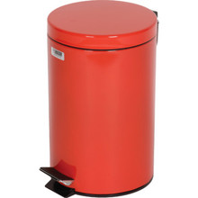 3.5 Gallon Rubbermaid Medi-Can Red Step Can