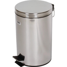 3.5 Gallon Rubbermaid Medi-Can Stainless Steal Step Can