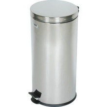 8 Gallon Rubbermaid Medi-Can Stainless Steal Step Can