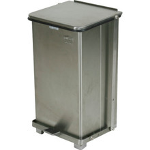 12 Gallon Rubbermaid Defenders Stainless Steal Step Can