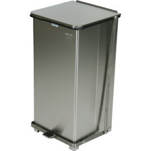 24 Gallon Rubbermaid Defenders Stainless Steal Trash Can