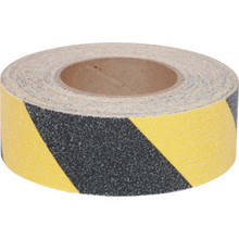 "2"" x 60' Black And Yellow Antislip Tape"