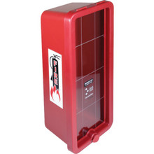 Plastic Fire Extinguisher Cabinet Surface Mount