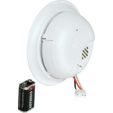 Direct Wire Ionization Smoke Alarm With Battery Back Up