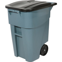 50 Gallon Rubbermaid Brute Gray Trash Can