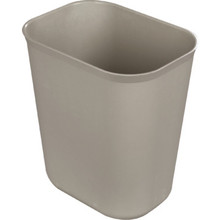 14 Quart Rubbermaid Beige Wastebasket